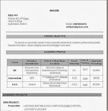 resume for engineering students pdf electronics and communication engineering resume examples for students
