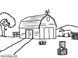 Small Picture Farm coloring page
