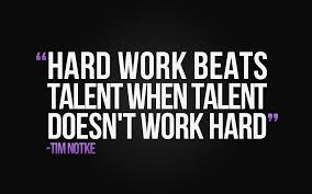 motivation monday talent is worthless if you lack motivation a hard work beats talent