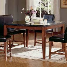 dining table squarepark steve silver montibello counter height square dining table from haynee