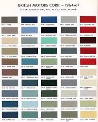 Classic <b>Mini</b> Paint <b>Colours</b> & Codes - love:<b>mini</b> - free digital ...
