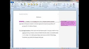 formatting an apa reference list hanging indent in ms word formatting an apa reference list hanging indent in ms word