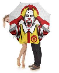 """Зонты c необычными принтами """"<b>клоун</b>"""" - купить в интернет ..."""