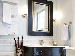 bathroom splendid corner vanity decorated with black wooden cabinet and undermount sink as well as best bathroom lighting