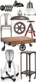 save chic industrial furniture