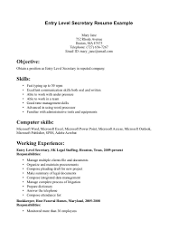 secretary resume objectives examples cipanewsletter cover letter objective for secretary resume objective for resume