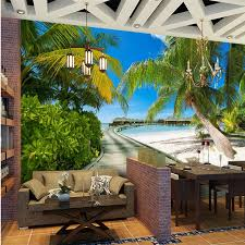 <b>beibehang Custom wallpaper</b> mural photo Seascape Promenade ...