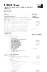 paralegal resume samples   visualcv resume samples databaselitigation paralegal resume samples
