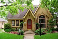 French Tudor Style Homes Cottage Style Brick Homes  brick bungalow    French Tudor Style Homes Cottage Style Brick Homes