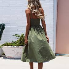 Casual Vintage Sundress <b>Women Summer</b> Dress <b>2019</b> Boho <b>Sexy</b> ...