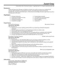 resume samples for facility managers   letter to insurance company    resume samples for facility managers facility manager resume sample job interview career guide operations manager resume