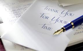 format for writing an interview thank you letter guidelines for writing great thank you letters