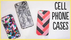 Diy Diy Cell Phone Cases Cute And Easy Youtube