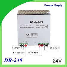 DR <b>240</b> 24 <b>Din rail power</b> supply <b>240w</b> 24V <b>power</b> suply 12V/24V ...