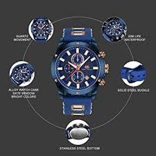 Men Business <b>Watch</b>, <b>MINI FOCUS</b> Quartz <b>Chronograph Watches</b>