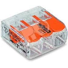 <b>Клемма</b> трехпроводная <b>221-413</b> WAGO купить цена
