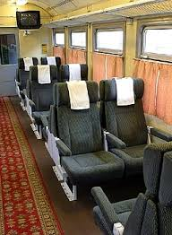 The different carriages classes in Russian trains