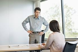 interview question how do you handle stress man being intimidating during job interview w