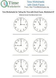 Time Math Worksheets with Clock Faces #7 | Time Worksheets OrgTo print this Time Math Worksheet. Please Click Here <<
