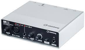 <b>Steinberg UR12</b>, Black Silver <b>аудио интерфейс</b> — купить в ...