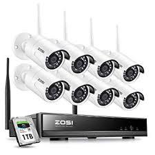 ZOSI 8CH 1080P Wireless Security Cameras System ... - Amazon.com