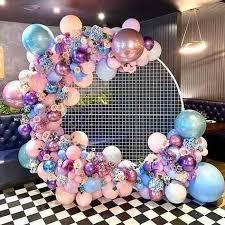 <b>Circle Wedding</b> Birthday Arch Decoration Background Wrought <b>Prop</b> ...