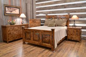 emily bedroom set light oak: furniture for rustic bedroom with brown finish oak wood for for rustic bedroom