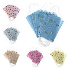HNDHUI <b>10pcs Kids Disposable</b> Medical Mou- Buy Online in Macau ...