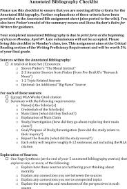 Annotated Bibliography sample   Human Development and Functioning