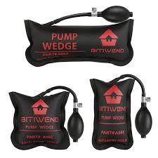 BITIWEND Air Shim, Air Wedge Pump <b>3pcs</b> Inflatable Air Bag Shims ...