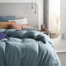 Duvet set <b>washed cotton</b> gauze TENDRESSE | Essix