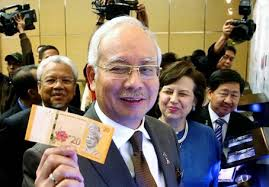 Image result for najib pegang duit