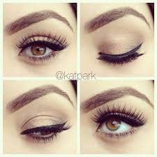 simple eye makeup tutorial for brown eyes