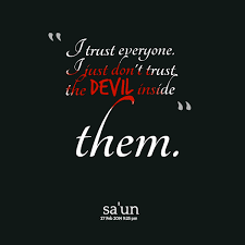 Devil Quotes And Sayings. QuotesGram via Relatably.com