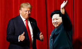 Image result for picture of trump and kim jong un