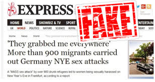 Image result for Viral Story About Refugee Sex Mob Was Completely Fabricated