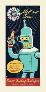 <b>Bender</b> | Futurama, Futurama <b>bender</b>, Screen <b>printing</b>