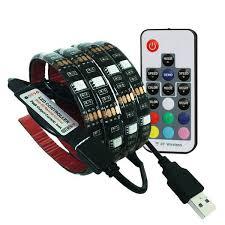 Buy 2M 5V <b>RGB 5050 USB</b> Strip <b>LED</b> Light PC 5V 2M 60Led/M <b>USB</b> ...