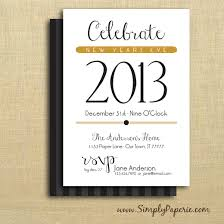 shower party invitations collection simply paperie celebrate new year party invitations new years eve 2014