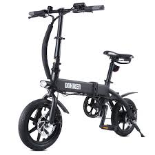 <b>DOHIKER Folding Electric Bicycle</b> 250W Collapsible Electric ...