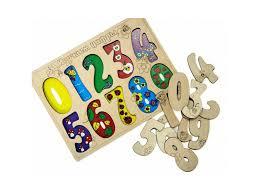 <b>Пазл Master Wood</b> развивающий, Цифры купить в детском ...