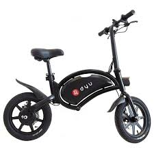 <b>DYU D3F</b> Folding Moped <b>Electric</b> Bike 14 Inch Black