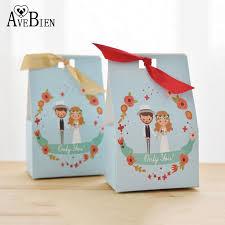 <b>AVEBIEN</b> Wedding Bride&Groom <b>Candy Boxes</b> Birthday Decoration ...