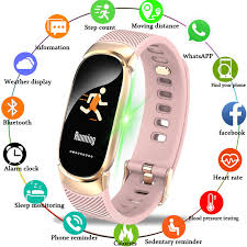 <b>LIGE 2019 New</b> Men <b>Women</b> Sports Smart Bracelet Fitness Tracker ...