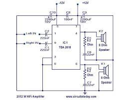 hi fi amplifier circuit   electronic circuits and diagram    hi fi amplifier circuit diagram    s list
