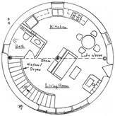 Inspiring Round Home Plans   Circular House Floor Plans    Inspiring Round Home Plans   Circular House Floor Plans