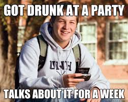 Meme of the Week: Uber Frosh, the Clueless College Freshman ... via Relatably.com