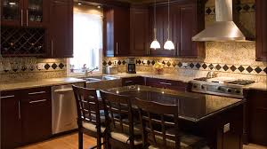 Small Picture Plain Dark Cherry Kitchen Cabinets Rockford Door Style Cliqstudios