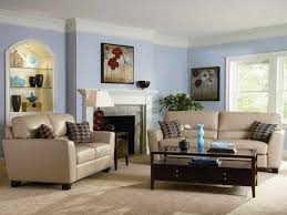 blue blue room white furniture