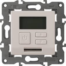 <b>Терморегулятор ЭРА</b> Elegance, универсальный, <b>14-4111-02</b> ...
